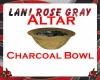 LRG  ALTAR CHARCOAL BOWL