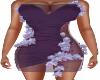 Charmin Plum Club Dress