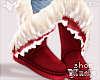 $ Winter Boots - Red