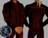 (MSis)Leather Red Jacket