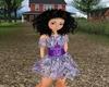 Kid's Prpl Diamond Dress