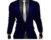 Dark Blue Suit Top