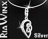 Celtic Love Knot V1-Slvr