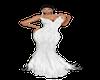 White glitter long dress