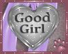 Good girl bowcollar (L)
