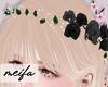 🌸 Rose Crown Black