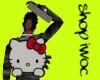 Girl Hello Kitty bag