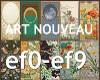 10 Art Nouveau BG's