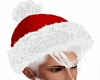 Santa hat any hair