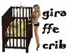 (BL) Giraffe Crib