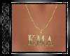 Gold & Diam KMA Necklace