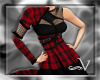 ~V Red Plaid Couture