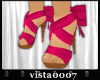[V7] Pink Bow Shoes