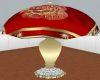 Red/Gold Elegant Lamp