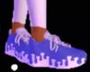 Blue Drip Shoe
