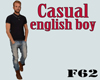 Casual english boy