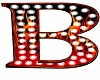 Flames Letter B