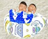 SCB TwinBoys Pillow Lite