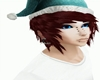 Blue Christmas Hat