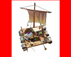 Animated sail Raft