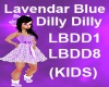 (KIDS) Lavendar Blue