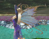 moving blue fairy wings