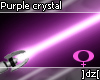 ]dz[ Purple crystal