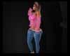 Aari Pink N Jeans