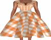 Snazzy Autumn 50s Dress