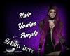 Hair Yonina  Purple