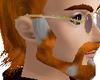 greying red beard