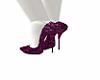 Maroon High Heels