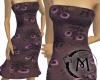 (M) Maroon Dress