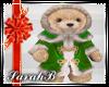 SB| Green Xmas Bear