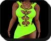(A.F) green dress
