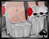 Cat~LaMuerta Xmas-Pumps