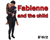Fabienne and the child