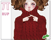 |Pi| Red Sweater