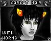 !T Karkat hair + horns