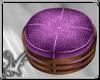 purple boho ottoman