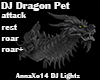 DJ Light Dragon Pet