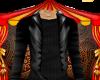 Leather Jacket & shirt M