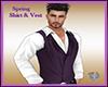 Spring Shirt & Vest