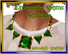 Emeraude Gems Necklace