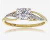 Silver Gold Diamond W/R