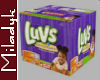 MLK Box of Luvs Diapers