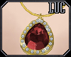 [luc] Necklace G Ruby