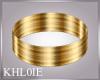 K gold armband Left