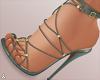 $ Trendy Khaki Heels