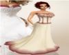 Burgundy Corset Dress
